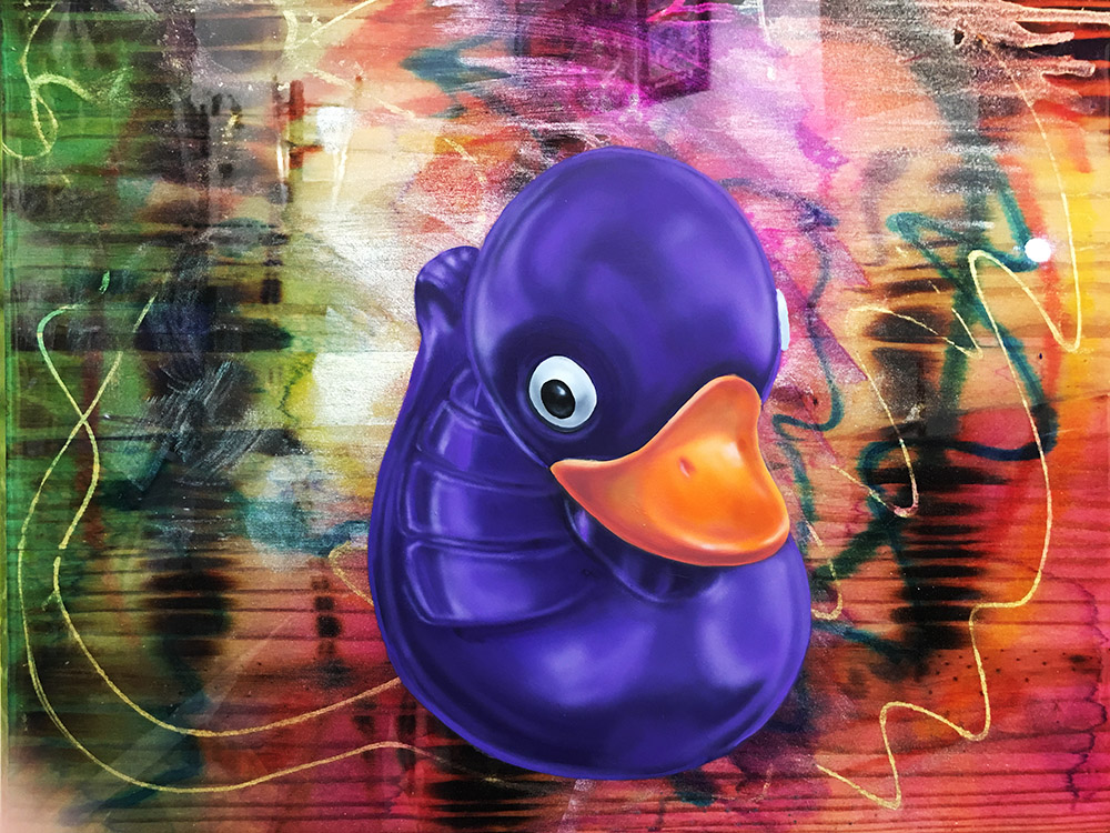 Purple Duck